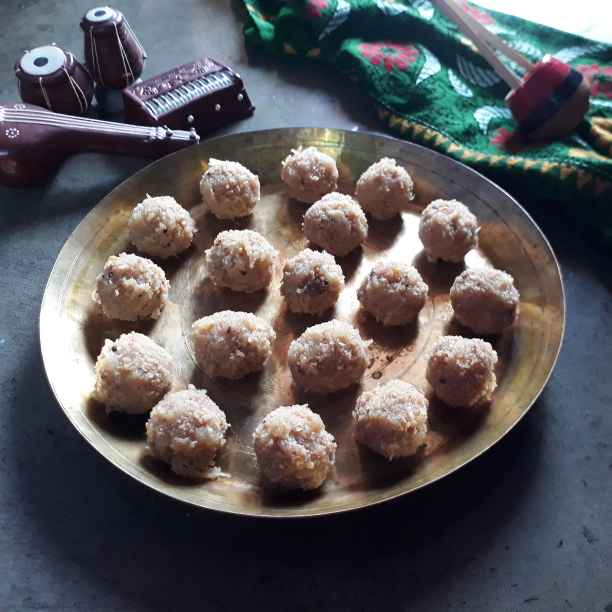 How to make নারকেল নাড়ু
