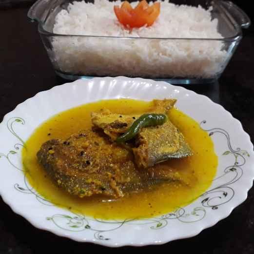 Photo of Mustard pomfret curry by Papiya Nandi at BetterButter