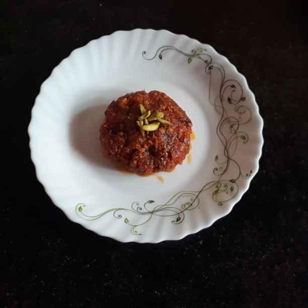 Photo of Papaya halua by Papiya Nandi at BetterButter