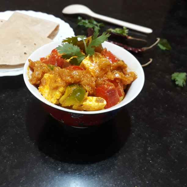 Photo of Kadai paneer by Papiya Nandi at BetterButter