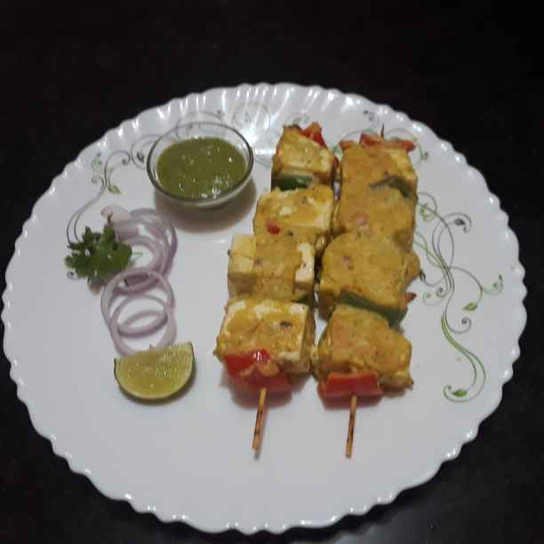 Photo of Makhmali paneer tikka by Papiya Nandi at BetterButter