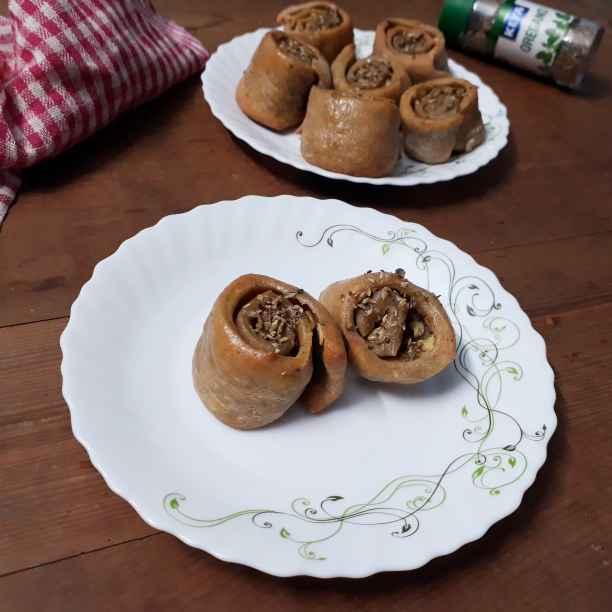 Photo of Garlic roll bred with wheat by Papiya Nandi at BetterButter