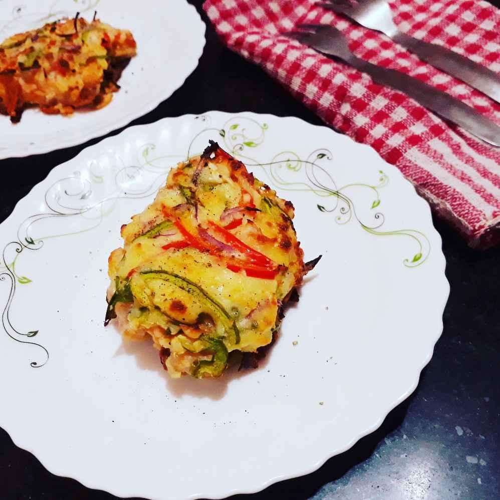 Photo of Baked cheese bhetki by Papiya Nandi at BetterButter