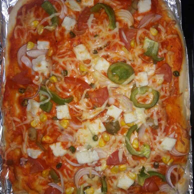 Photo of Vegetable Pizza by Paramasivam Sumathi at BetterButter