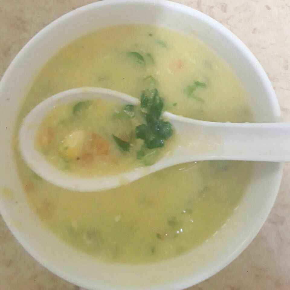 Photo of Methi Sweet corn soup by Paramasivam Sumathi at BetterButter