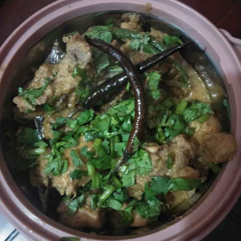 Photo of CHICKEN with puppy seeds by paramita Dutta at BetterButter