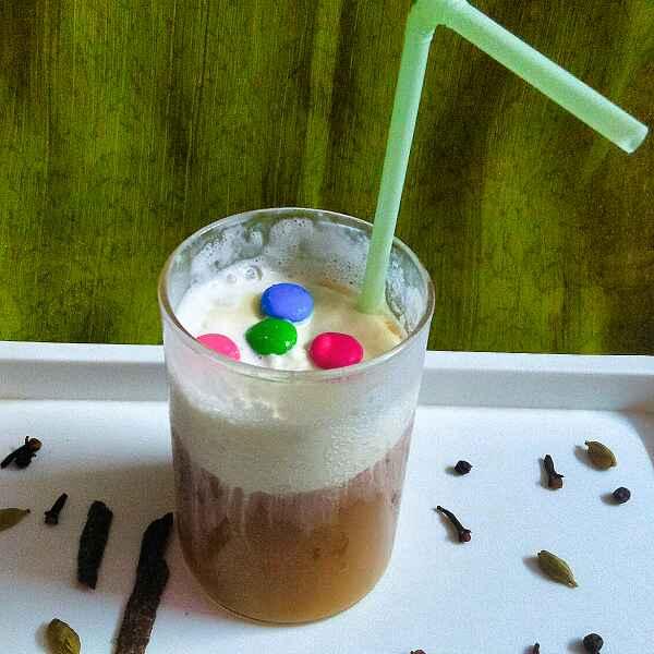 Photo of Thai cold tea by paramita Dutta at BetterButter