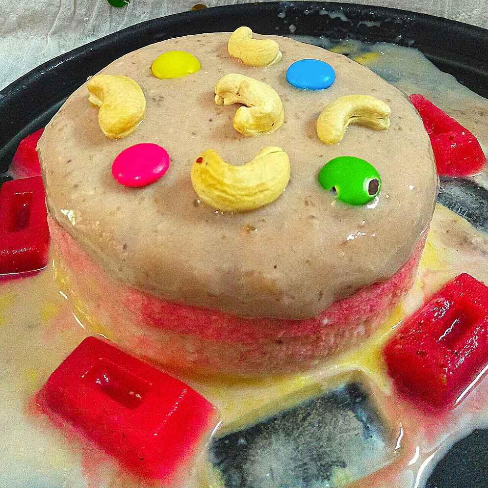 How to make ३ इन १ आइस्क्रीम