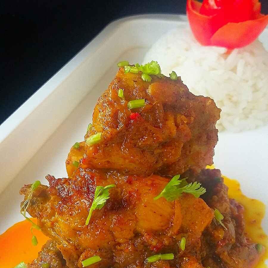Photo of Achari chicken by paramita Dutta at BetterButter