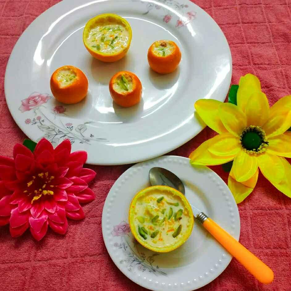 Photo of Orange kheer by paramita Dutta at BetterButter