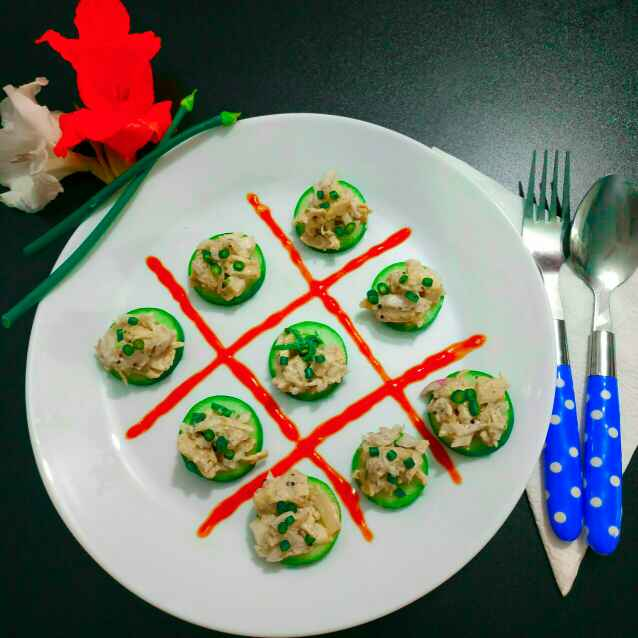 Photo of Chicken in cucumber base by paramita Dutta at BetterButter