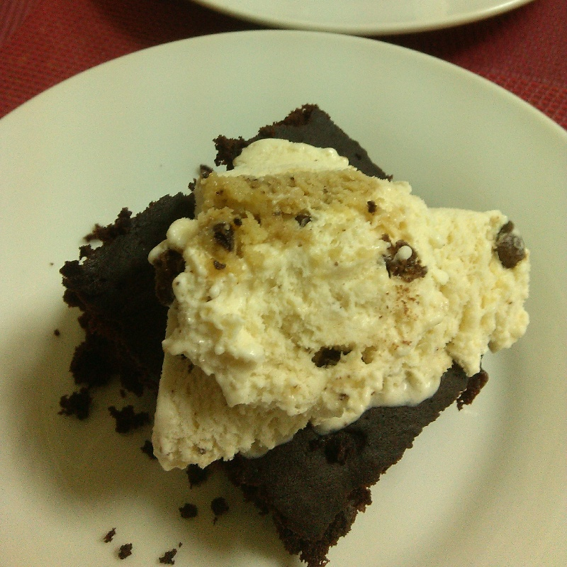 How to make 2 Minutes Microwave Brownie