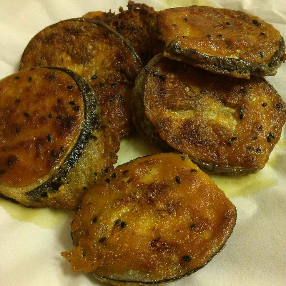 How to make Beguni / Eggplant Fritters/Fried Eggplant