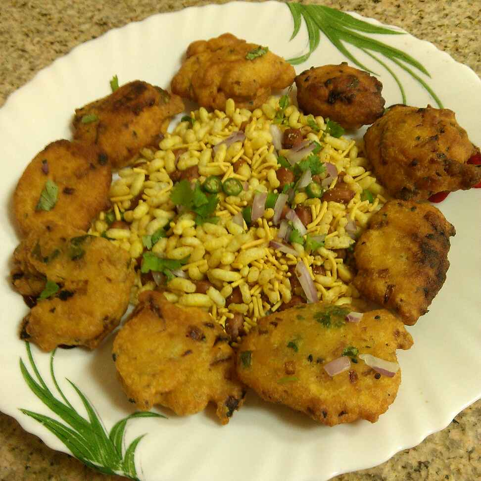 How to make Musoor Dal Vada / Red Lentil Fritters