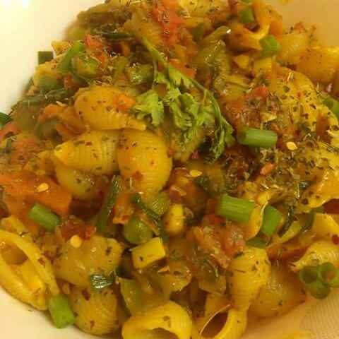 How to make Masala Pasta in Indian Style