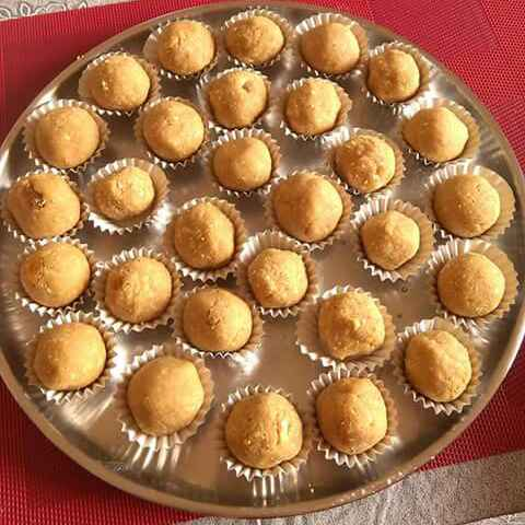 How to make Dry fruit  Coconut and  Oats laddu
