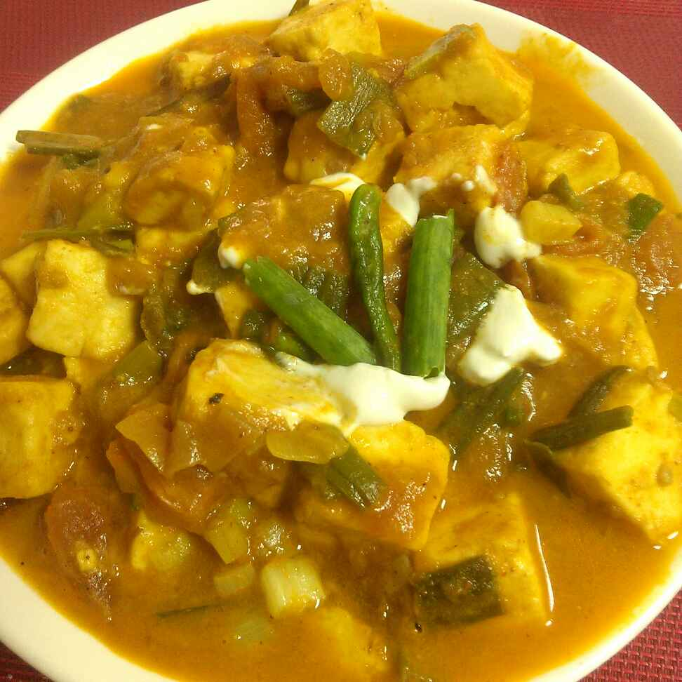Photo of Paneer with Spring Onion by Paramita Majumder at BetterButter