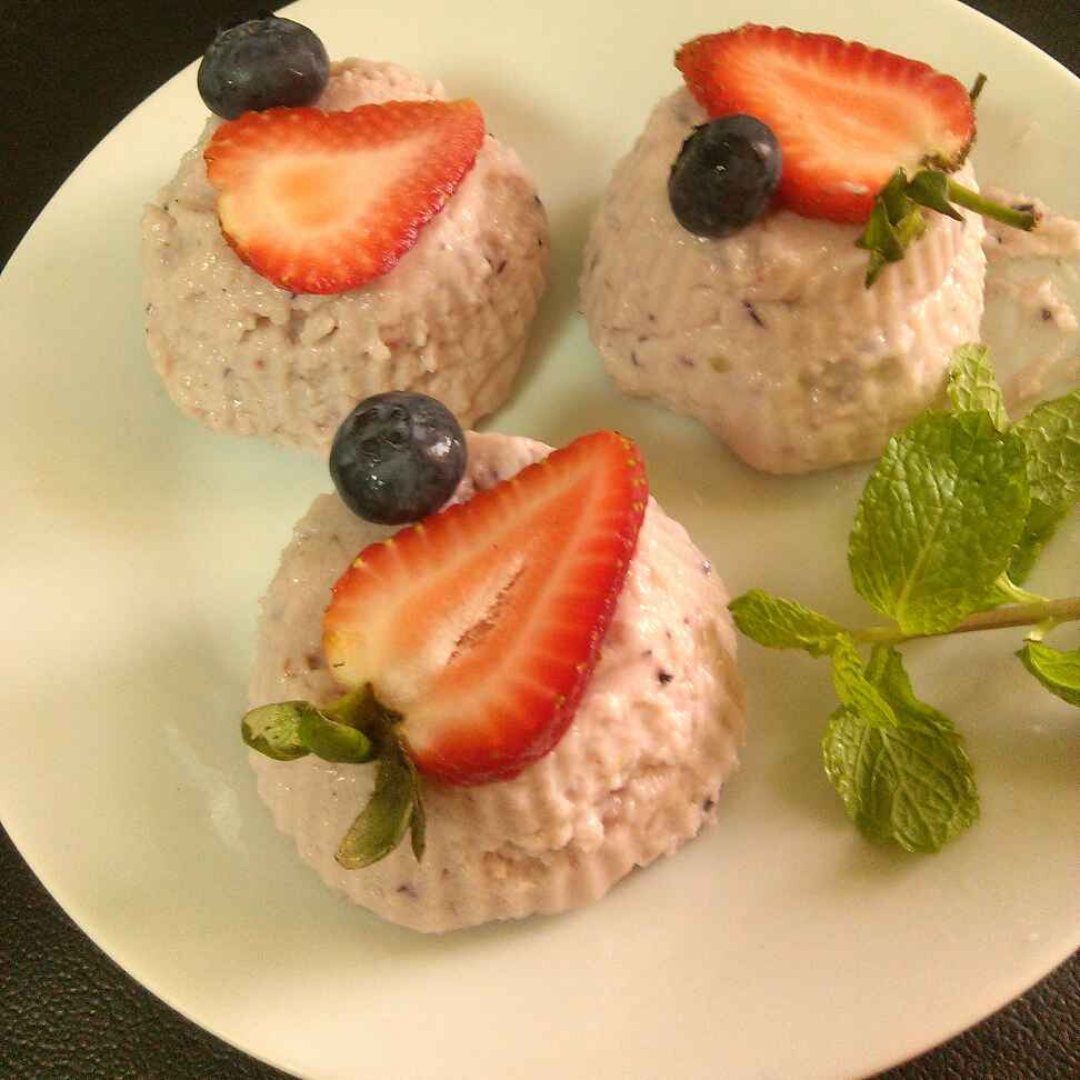 How to make Yoghurt Berry Murmura Softie