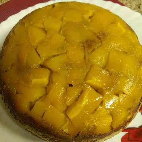 How to make Mango Upside Down Cake