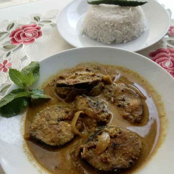 Photo of Kate fish stew with mustard paste / bengali mustard paste fish curry by Paramita Majumder at BetterButter