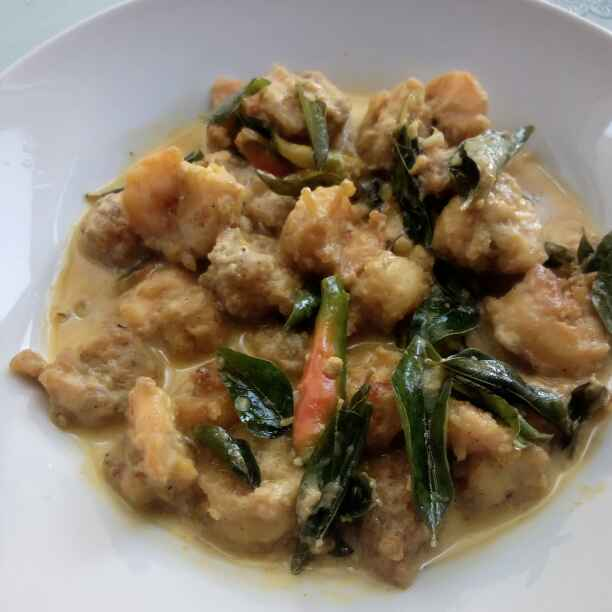 Photo of Prawns in mulk and butter sauce by Paramita Majumder at BetterButter