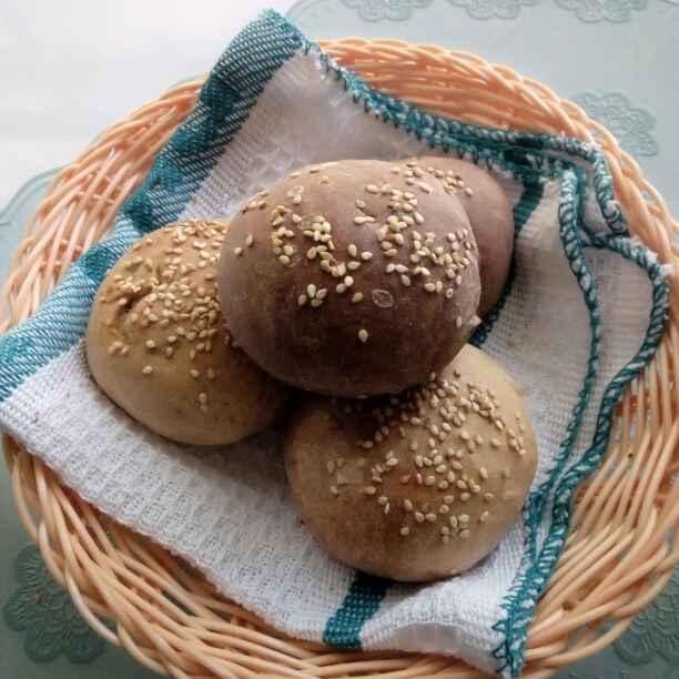 Photo of Assorted Whole wheat Stuffed Buns by Paramita Majumder at BetterButter