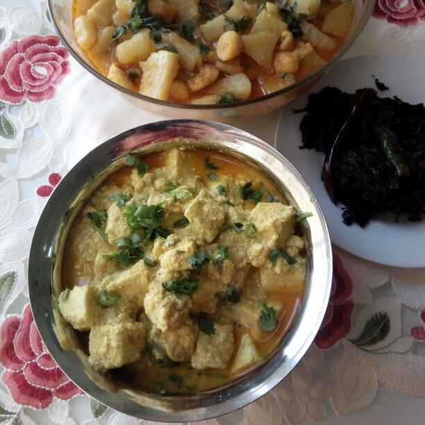 Photo of Tilottama panir ( without onion garlic ) by Paramita Majumder at BetterButter