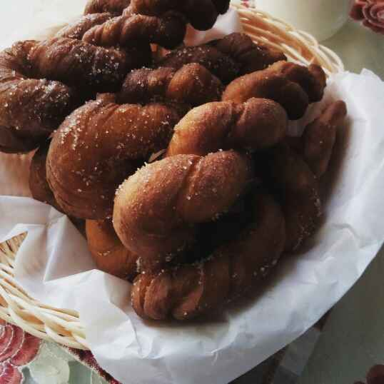 Photo of Twisted doughnut by Paramita Majumder at BetterButter