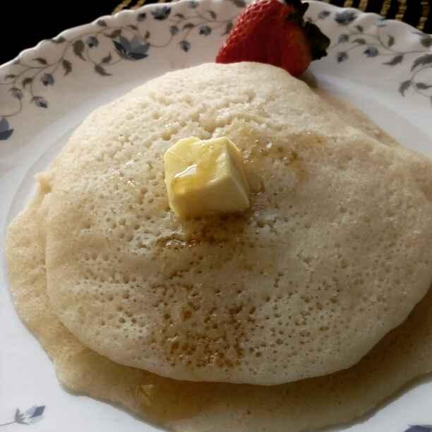 Photo of Bagrir/morakkan semolina(suji) pankek (anda rahit) by Paramita Majumder at BetterButter