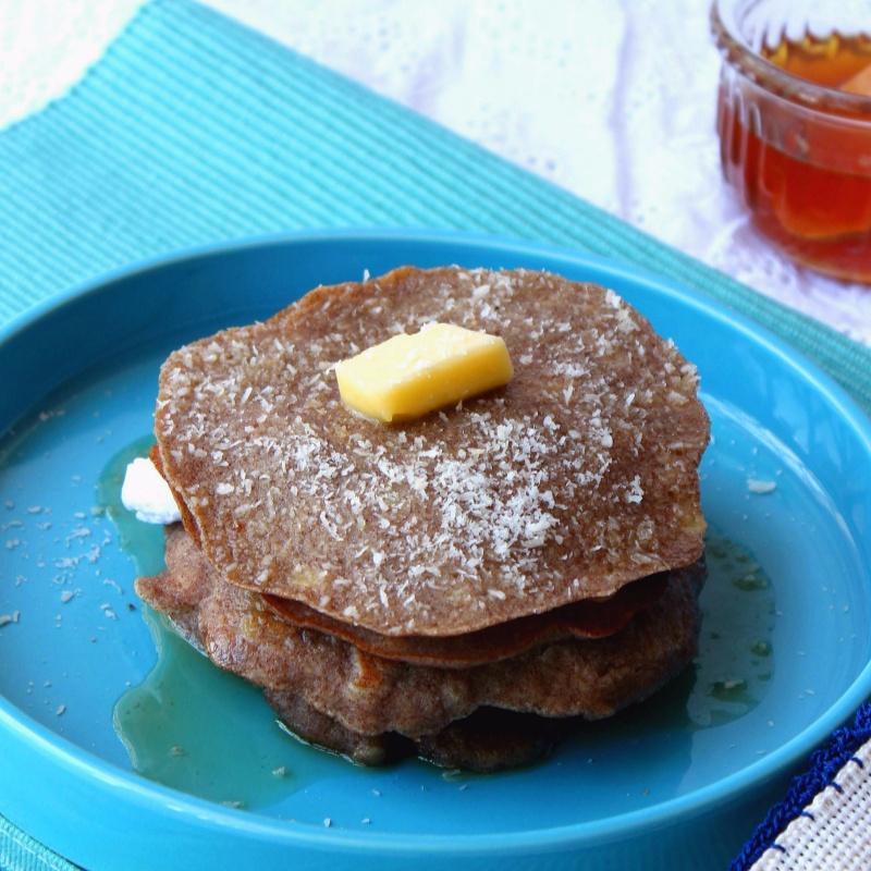 Photo of Ragi~Banana Pancakes by Parinaaz Marolia at BetterButter