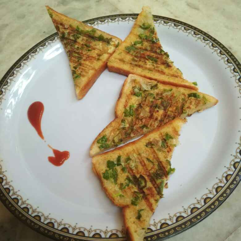 Photo of SUJI toast by Parul Bhimani at BetterButter