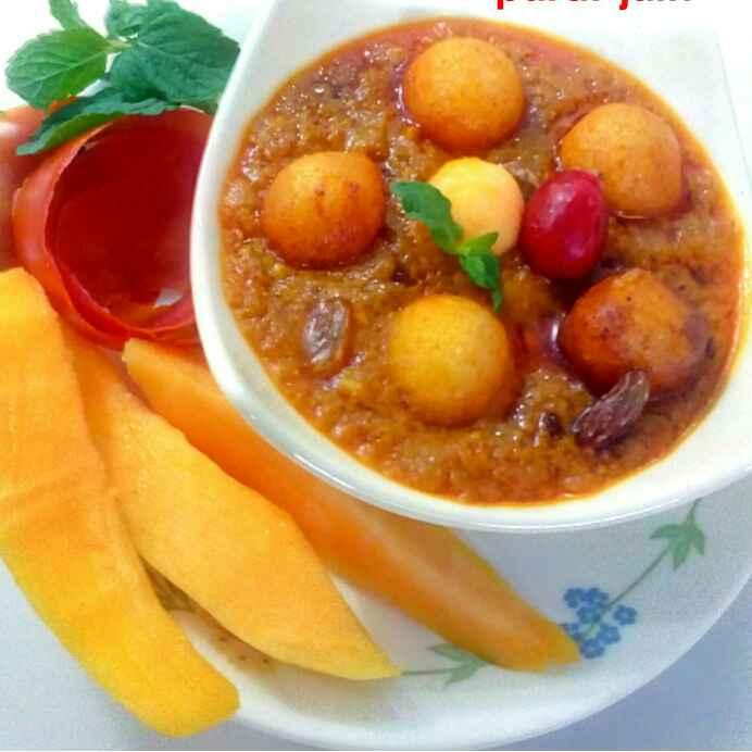 Photo of Mango maharani moti curry by Parul Jain at BetterButter