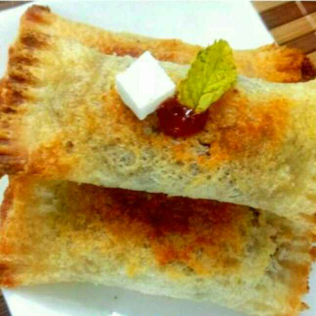 How to make Bread pizza puff