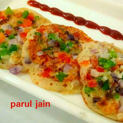 Photo of Sooji poha uttapam by Parul Jain at BetterButter