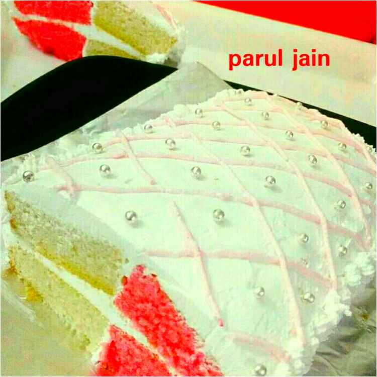 Photo of Double flavoured icecream brick cake by Parul Jain at BetterButter