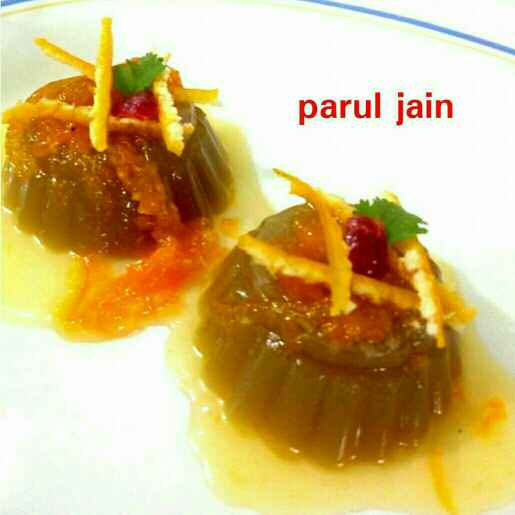 Photo of Orange And Jaggery Pannacotta by Parul Jain at BetterButter