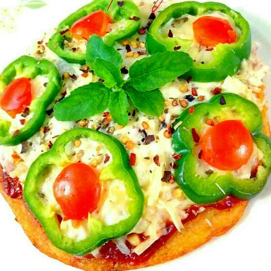 Photo of Desi pan pizza by Parul Jain at BetterButter
