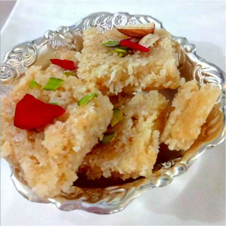 Photo of Coconut Barfi by Parul Jain at BetterButter