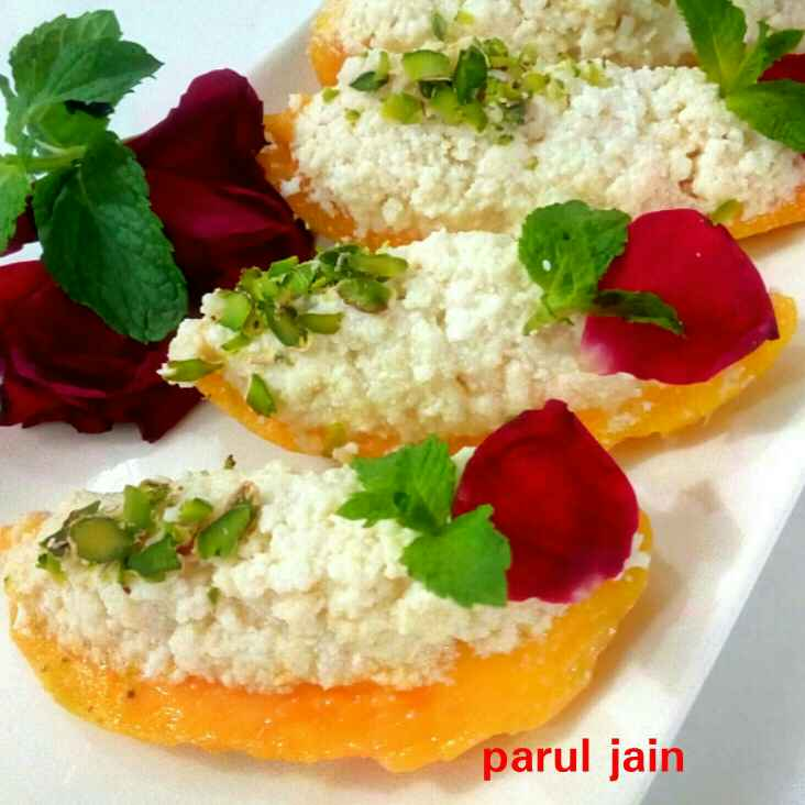 Photo of Mango sandesh by Parul Jain at BetterButter