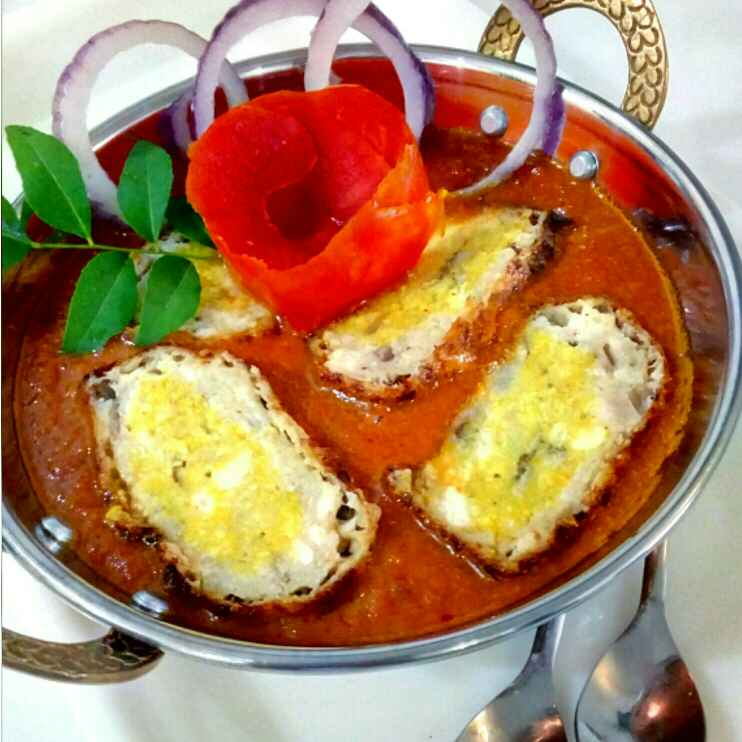Photo of Nargisi kofte in red gravy by Parul Jain at BetterButter