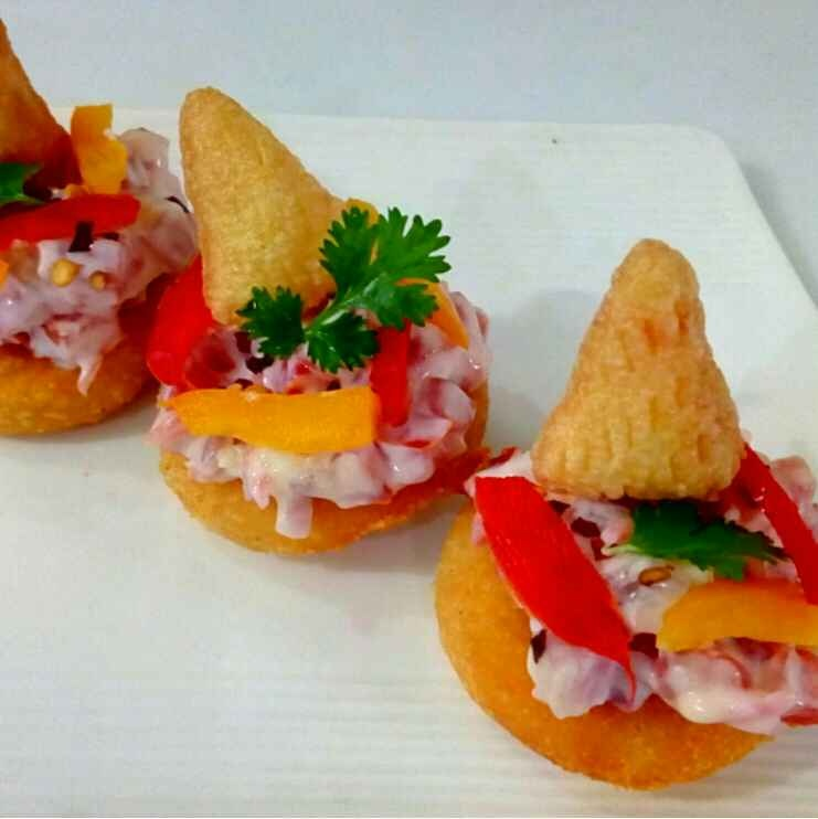 Photo of Christmas Smily Canape by Parul Jain at BetterButter