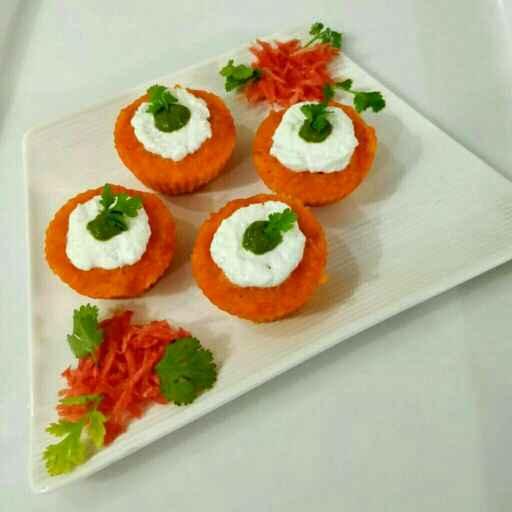 Photo of Gajar ke namkin muffins by Parul Jain at BetterButter