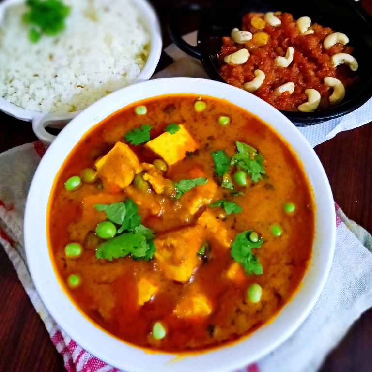 Photo of Matar paneer by Parul Sharma at BetterButter