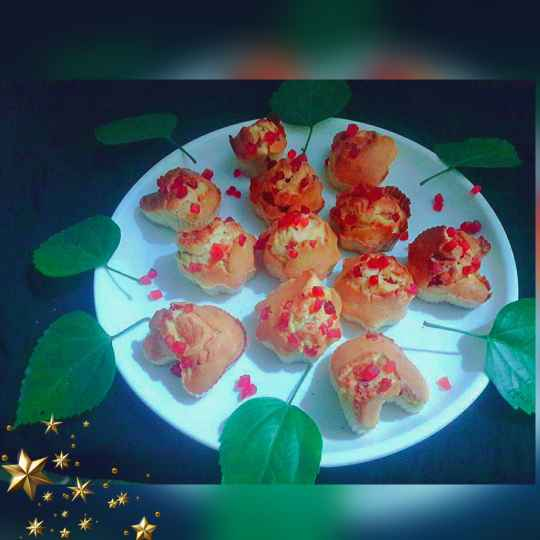 How to make Eggless tutti fruity muffins