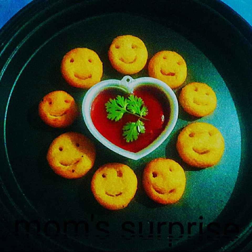 Photo of Rawa potatoe smiley by Parul Sharma at BetterButter