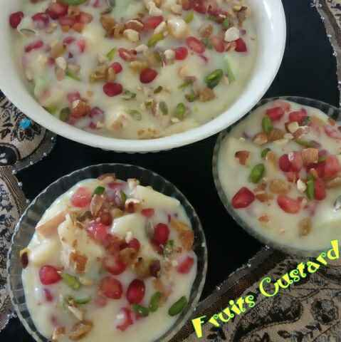 Photo of Fruit Custard by Parul Singhal at BetterButter