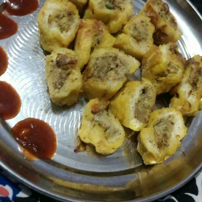 Photo of Steamed and Stuffed Bread Rings by parul twinkle@gmail at BetterButter