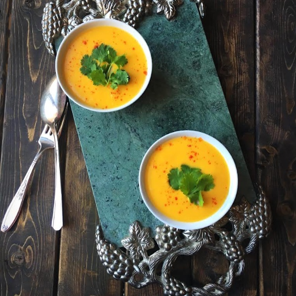 Photo of Thai flavoured sweet potato & coconut soup by Parvathy V Nair at BetterButter