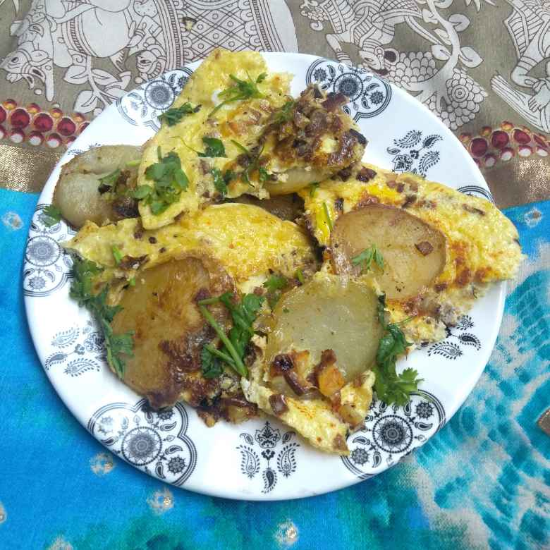 Photo of Aloo brunch recepie by Pasumarthi Poojitha at BetterButter