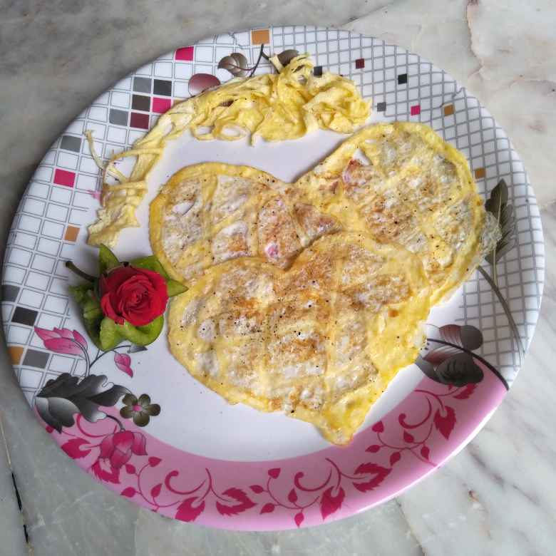 Photo of Egg little hearts by Pasumarthi Poojitha at BetterButter